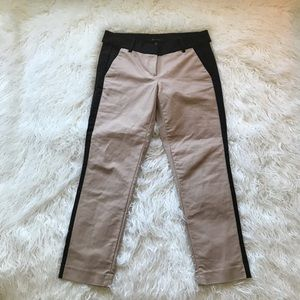 Ann Taylor Pants - Ann Taylor Tuxedo pant in camel and black